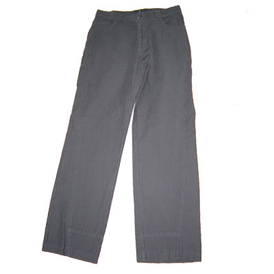 Man&acutes Cotton Sateen Pants (JN05MP003F)