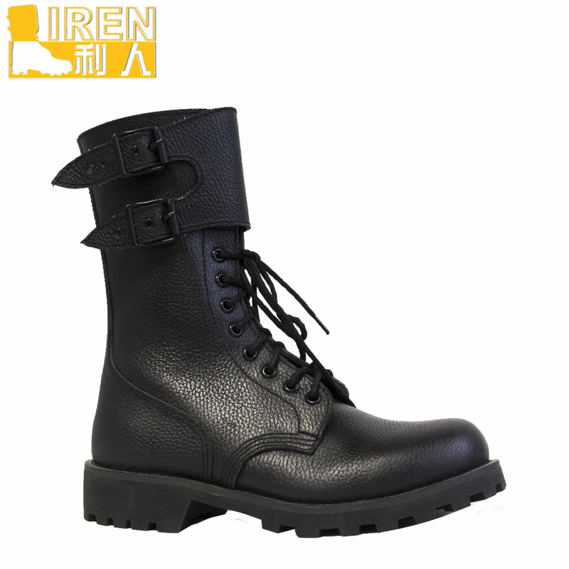 High Quality DMS Cow Leather France Type Military Boots