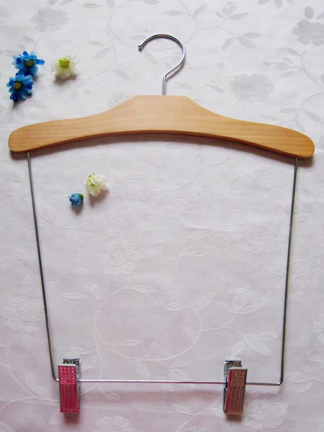 High Quality Wooden Baby Clothes Hanger
