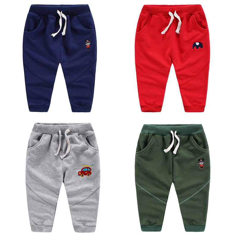 High Quality Children's Cartoon Cotton Sports Pants