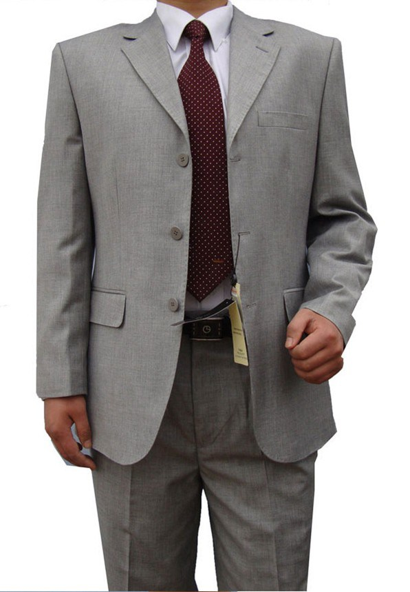 2PCS Business Men's Dress Suit (LJ-1045)