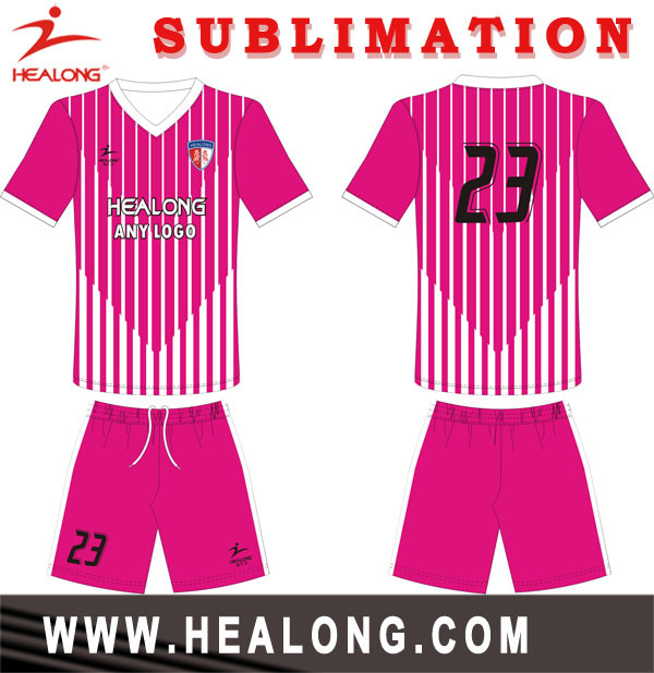 Healong Dri Fit Digitally Printed Unique Soccer Jerseys