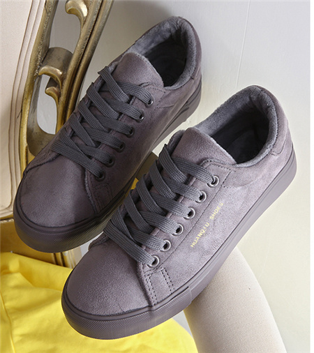 Suede Lace Women Casual Shoes (YZ99)