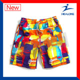 Healong Quick Dry Sports Gear Dye Sublimation Men's Beach Shorts