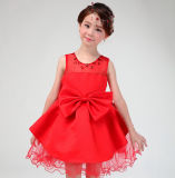 Factory Price Flower School Girl Party Dress