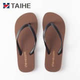 Hot Sell Sole PVC Strap Slippers for Men Beach Rubber Flip Flops