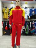 Healong Sublimation Sportswear Customized Uniform Football Tracksuit Jersey