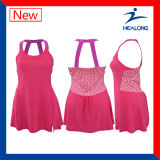 Healong Latest Design Special Full Sublimation Tennis Dress Wear