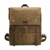 Waterproof Canvas Leisure Handbag Fashion Design Laptop Backpack (RS-MS2033)