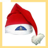 New Red Cotton Santa Hat-J002