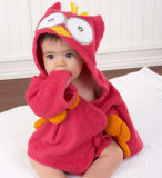 Cotton Long Sleeve Hooded Towel Kids Baby Robes