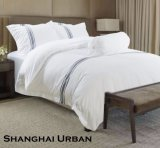 Hotel Supply 200tc Cotton Bed Sheet Hotel Linen