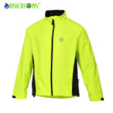 100% Polyester Bicycle Jacket with Nylon Zipper