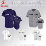 Healong Fashion Design Apparel Gear 100% Polyester Sublimation Men's Baseball Jerseys
