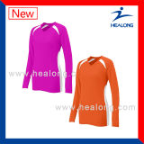 Healong Fitness Sports Gear Digital Printing Ladies Volleyball Shirts for Sale