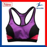 Colorful Cut and Sew fashion Customized Womens Sports Running Yoga Sexy Bras