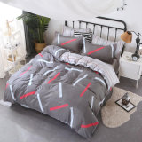 2018 New Design Disperse Printing 1500 Duvet Cover Bedsheet Bedding Set