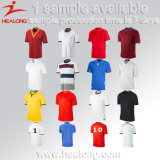 Healong Sportswear Wholesale Men Football Shirt with High Quality