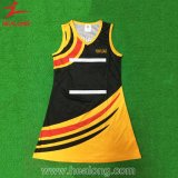 Custom Clothes Netball Dress Sublimated Uniform Shirt Sportswear