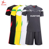 Healong Custom Soccer Uniforms Wholesale Sublimation Cheap Gray Man Soccer Set