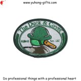 Oval Shaped Embroidery Patch for Uniform (YH-EB052)