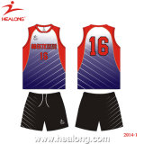 Healong China Design Sport Wear Sublimation Volleyball Uniforms