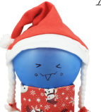 High Quality Fabric Santa Hat-J001