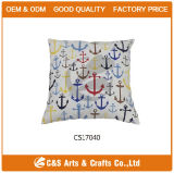 Home Decoration Printed Polyester Throw Pillow