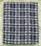 Polyester Travel Blanket with Throw Lap Blanket Fluffy and Warm