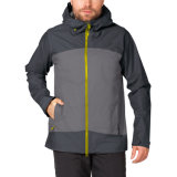 Men Weatherproof Tape Seamed Jacket for Active Hiking