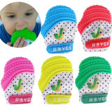 Silicone Baby Mitt Teething Mitten Candy Wrapper Sound Teether Toy