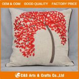 Custom Hot Sale Embroidery Fabric Cushion for Home Textile
