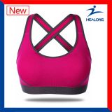 Best Sublimation Red Color Women Sports Bra Wear