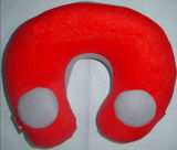Comfortable Red Musical Travel Pillows