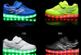 2016 Popular LED Women Casual Shoes (FL 04)