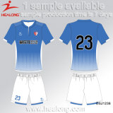 Healong Team Men New Design Custom Sublimation Cheap Soccer Uniform