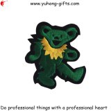 Wholesale Embroidery Animal Bear Shape Badge for Garments (YH-EB130)