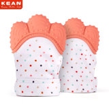 High Quality Non-Toxic Silicone Teething Mitten Teether Gloves