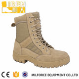 Genuine Suede Cow Leather Heavy-Duty Rubber Safety Shoe Military Tactical Desert Boot