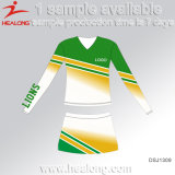 Healong Fresh Design Clothing Gear Sublimation School Cheerleading Dresses for Sale