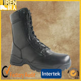 Black Full Genuine out Door Safety Boots Military Police Tactial Boot