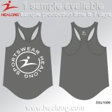 Healong China Cheap Price Apparel Gear Dye Sublimation Ladies Sports Running Vests