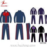 Healong Wholesale Man Custom Fitted Sportswear Plain Gym Waterproof Tracksuit