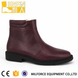 Soft Cow Leather Lining Military Women Ankle Boots