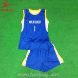 Healong China Authentic Sportswear Sublimation Beach Volleyball Jerseys for Sale