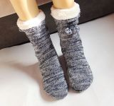 Customized Cheap Winter Slipper Sock