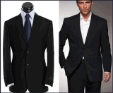 Top-Quality Men's Notch Lapel Wrinkle-Free Formal Business Suits