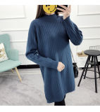 Spring Wool Sweater Dress Design for Women Wholesale Dress