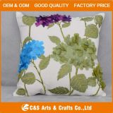Custom New Design Embroidery Fabric Cushion for Home Textile