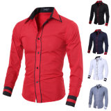 Men Luxury Casual Stylish Slim Fit Long Sleeve Casual Shirts